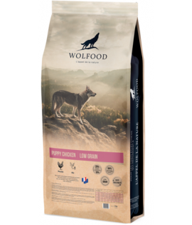 Wolfood puppy low grain